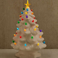 Light-Up LED Nostalgia Christmas Tree | Urban Outfitters