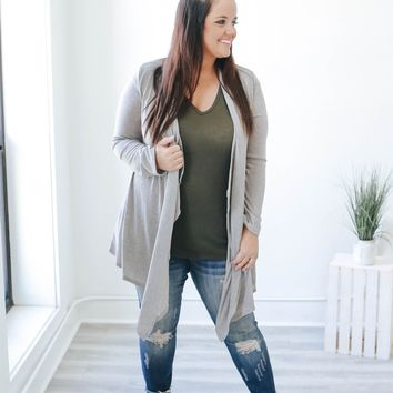 My Revival Cardigan + Heather Grey