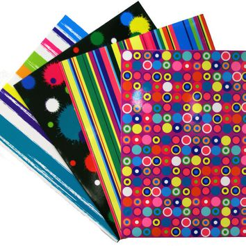2 Pocket Laminated Folder Printed - CASE OF 48