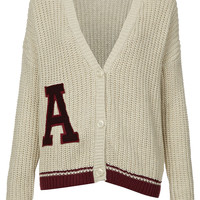 Knitted 'A' Rib Cardi - Knitwear - Clothing - Topshop USA