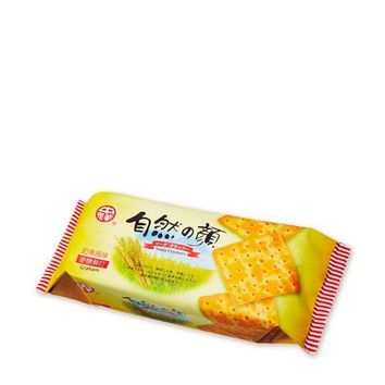 Savory Graham Soda Crackers from Taiwan, 4.9 oz (140 g)