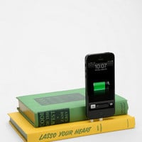 Vintage Book iPhone 5/5s Charging Dock - Urban Outfitters