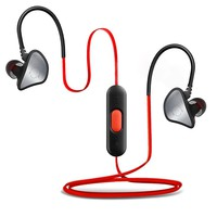 Bluetooth Headset, Maxbo In-Ear Headphones Wireless Bluetooth Sport&Running Stereo with Noise Cancelling Earphones Earbuds (Black/Red)
