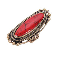 Red Jewelry Stretch Ring