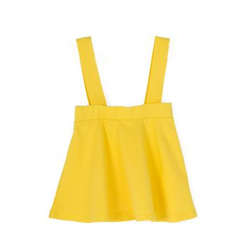 Coconut Yellow Detachable Suspender Skirts