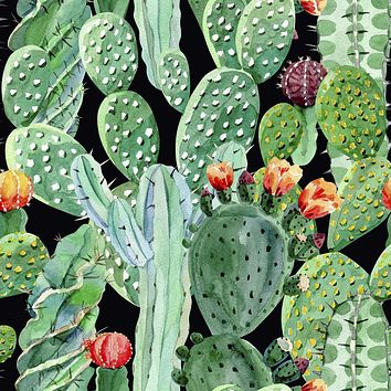 Prickly Party Removable Wallpaper