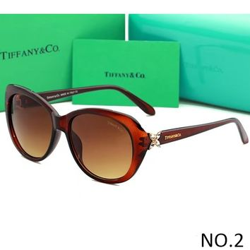Tiffany & co 2018 men and women tide brand fashion delicate sunglasses F-ANMYJ-BCYJ NO.2