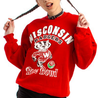 Vintage 1994 Wisconsin Badgers Rose Bowl Sweatshirt - One Size Fits Many