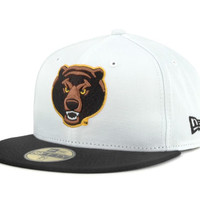 Baylor Bears NCAA White 2 Tone 59FIFTY Cap