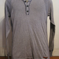 Diesel Long Sleeve Knit Henley L