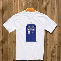 Doctor Who Police Box Tardis shirt for man and woman shirt / tshirt / custom shirt