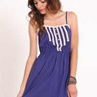 Lacy Waterfalls Applique Dress - $33.00 : ThreadSence.com, Your Spot For Indie Clothing & Indie Urban Culture