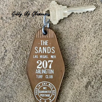 The Sands Hotel and Casino Las Vegas Key and Fob