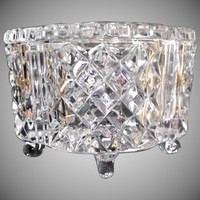 Crystal Cut Glass Jewel Box Casket