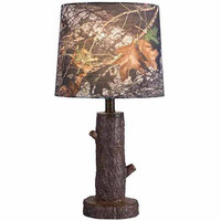 Walmart: Mossy Oak Stump Accent Lamp with Mossy Oak Camo Shade