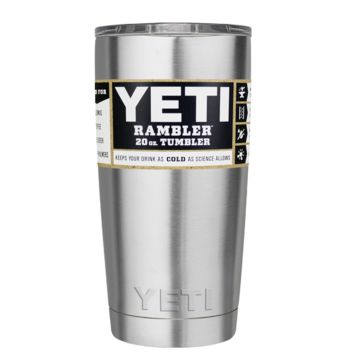 Custom YETI 20 oz Stainless Steel Design Your Own Tumbler