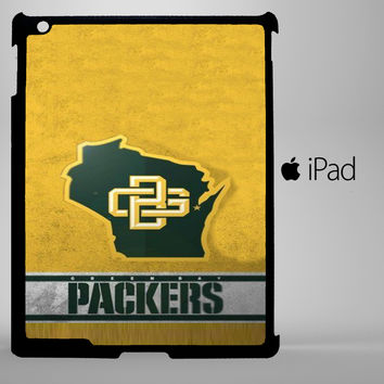Green Bay Packer A0374 iPad 2, iPad 3, iPad 4, iPad Mini and iPad Air Cases - iPad