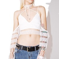 Blissed Out Crop Top