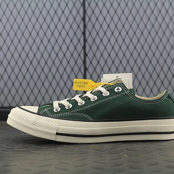 Converse Addict Fashion Canvas Flats Sneakers Sport Shoes Green