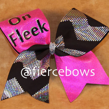 On Fleek Cheer Bow
