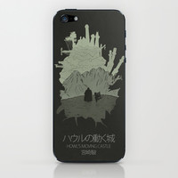 Howl's Moving Castle iPhone & iPod Skin by OurbrokenHouse
