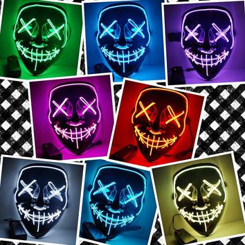 The Purge Election Year LED Light Up Masks