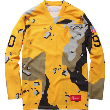 Supreme: Desert Camo Hockey Top - Yellow