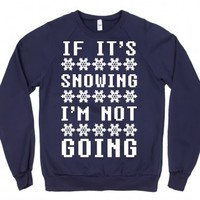 Navy Sweatshirt | Funny Winter Shirts