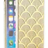 Women's Sonix 'Gold Lace' Clear iPhone 6 Case - Metallic