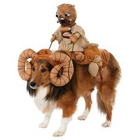 Star Wars Bantha Pet Dog Costume -Brown - One Size Fits Most