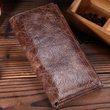 retro vintage handmade genuine leather card hold wallet purse 11 2