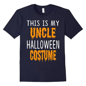 Halloween Gift This is my UNCLE Halloween costume T shirt