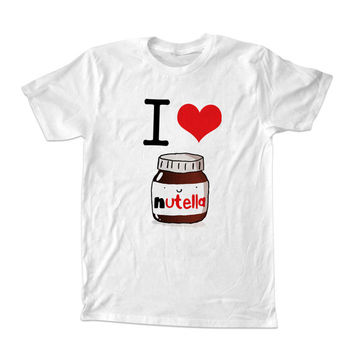 I Heart Nutella t-shirt unisex adults