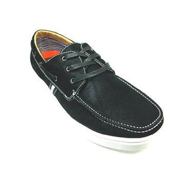 Men's 30212 Round Toe Lace Up Casual Moccasin Sneaker Shoes