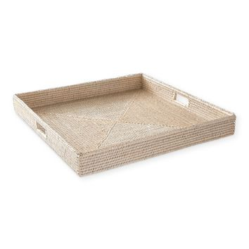 Hapao Square Tray, Light Wash