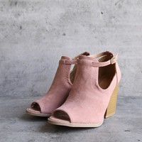 Stella Peep Toe Ankle Bootie   More Colors