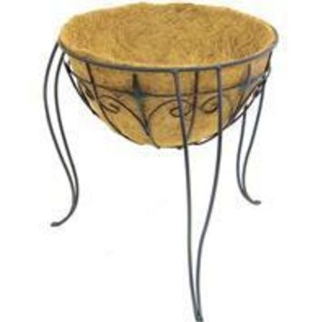 Panacea Products - Plant Stand With Liner & Finial
