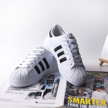SUPERSTAR Running Sports Shoes Mens Women Adidas Shoes Lace-up Pumps Casual Trainers