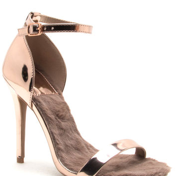 Azalea Heels - Rose Gold from WantMyLook  a13843fbe
