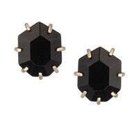 Morgan Stud Earrings in Black - Kendra Scott Jewelry