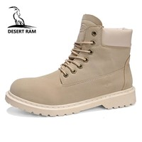 DESERT RAM Brand Mens Boots Male Timberly Martins Men Winter Ankle Boot Cowboy Timber Westar Shoes Kanye Tamberlinrd Yellow Bot