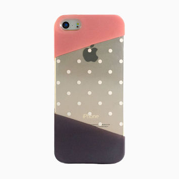 Clear Polka Dot iPhone 6 Case