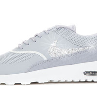 Nike Air Max Thea - Crystallized Swarovski Swoosh - Grey