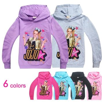 jojo siwa  girls long sleeve tops  vampirina  halloween shirts kids    unicorn  girls tshirt  baby girl winter clothesKawaii Pokemon go  AT_89_9