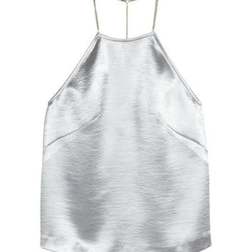 H&M Metallic Camisole Top $29.99