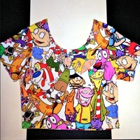 SWEET LORD O'MIGHTY! MA FAV CARTOON CROP T