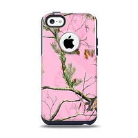 The Pink Real Camouflage Apple iPhone 5c Otterbox Commuter Case Skin Set