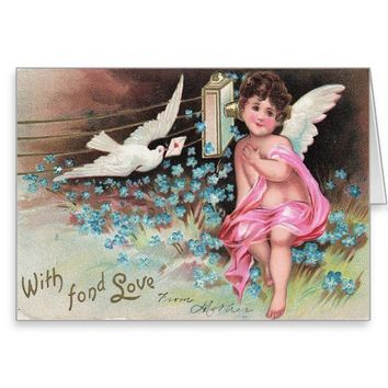 Victorian Mother's Love Greeting Card