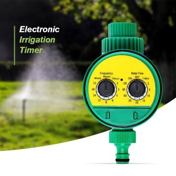 Automatic Intelligent Electronic LCD Water Timer Rubber gasket design Solenoid Valve Irrigation Sprinkler Controller