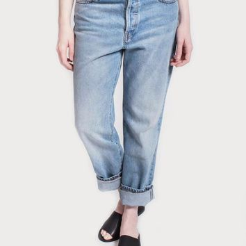 Celine Boyfriend Jeans Light Wash